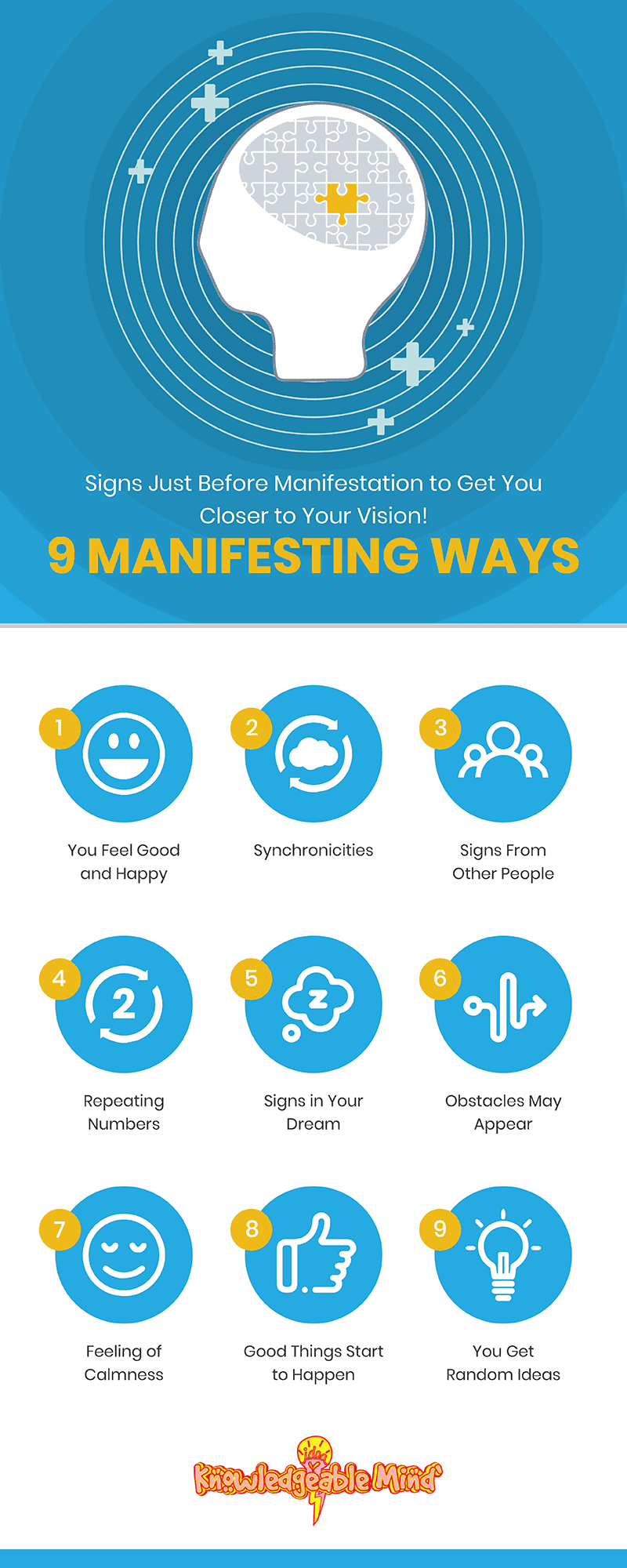 Signs Just Before Manifestation to Get You Closer to Your Vision! 9 Manifesting Ways (resized)