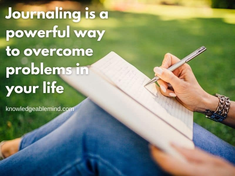Journaling is powerful